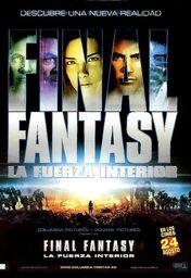 Cartel oficial en español de: Final Fantasy: la fuerza interior