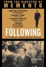 Cartel oficial en español de: Following