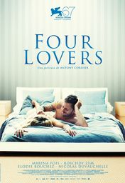 Cartel oficial en español de: Four Lovers