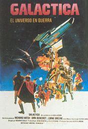 Cartel oficial en español de: Galáctica