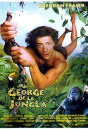 Cartel oficial en español de: George de la jungla