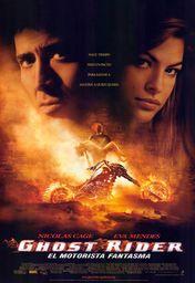 Cartel oficial en español de: Ghost Rider: el motorista fantasma