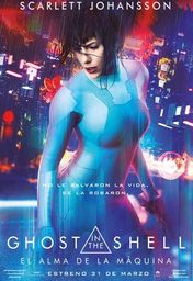 Cartel oficial en español de: Ghost in the Shell: El alma de la máquina