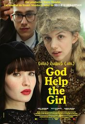 Cartel oficial en español de: God Help the Girl