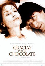 Cartel oficial en español de: Gracias por el chocolate