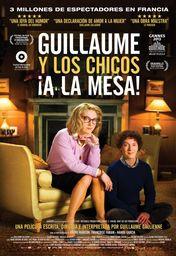 Cartel oficial en español de: Guillaume y los chicos, ¡a la mesa!