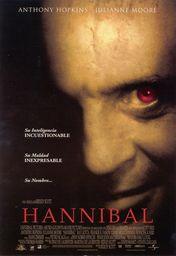 Cartel oficial en español de: Hannibal