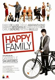 Cartel oficial en español de: Happy Family