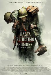 Cartel oficial en español de: Hasta el último hombre