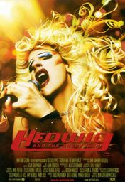Cartel oficial en español de: Hedwig and the Angry Inch