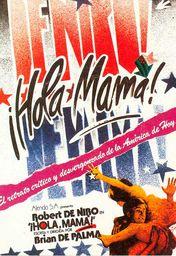 Cartel oficial en español de: Hola, mamá
