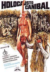 Cartel oficial en español de: Holocausto caníbal