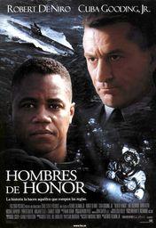 Cartel oficial en español de: Hombres de honor
