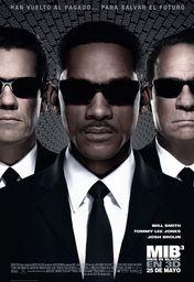 Cartel oficial en español de: Hombres de negro 3 (Men in Black 3D)