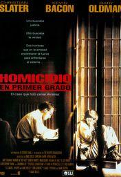 Cartel oficial en español de: Homicidio en primer grado