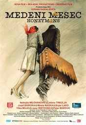Cartel oficial en español de: Honeymoons