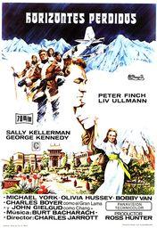 Cartel oficial en español de: Horizontes perdidos (1973)
