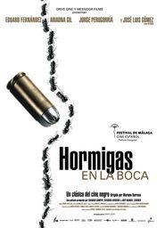 Cartel oficial en español de: Hormigas en la boca
