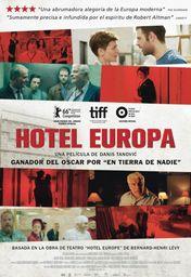 Cartel oficial en español de: Hotel Europa