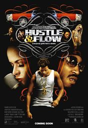Cartel oficial en español de: Hustle and Flow