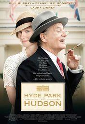 Cartel oficial en español de: Hyde Park on Hudson