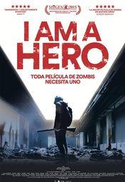 Cartel oficial en español de: I Am a Hero