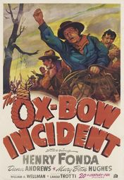Cartel oficial en español de: Incidente en Ox-Bow
