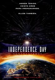 Cartel oficial en español de: Independence Day: Contraataque