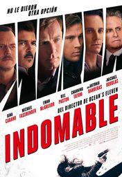 Cartel oficial en español de: Indomable