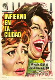 Cartel oficial en español de: Infierno en la ciudad