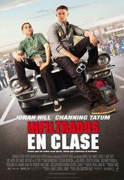 Cartel oficial en español de: Infiltrados en clase