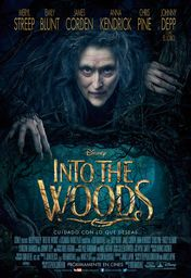 Cartel oficial en español de: Into the Woods
