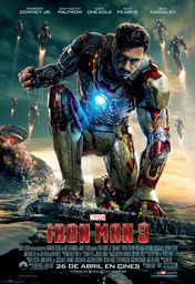 Cartel oficial en español de: Iron Man 3