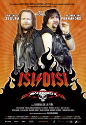 Cartel oficial en español de: Isi/Disi - Amor a lo bestia
