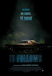 Cartel oficial en español de: It Follows