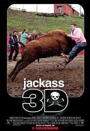 Cartel oficial en español de: Jackass 3D