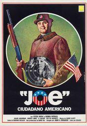 Cartel oficial en español de: Joe, ciudadano americano