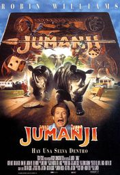 Cartel oficial en español de: Jumanji