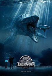 Cartel oficial en español de: Jurassic World