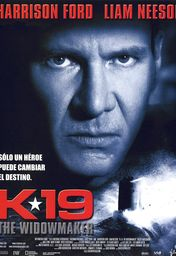 Cartel oficial en español de: K-19: the Widowmaker