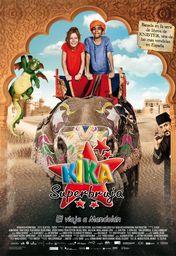 Cartel oficial en español de: Kika Superbruja 2: El viaje a Mandolán