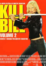 Cartel oficial en español de: Kill Bill: Volumen 2