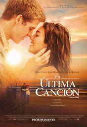 Cartel oficial en español de: La última canción (The Last Song)