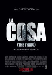 Cartel oficial en español de: La cosa (The Thing)