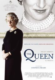 Cartel oficial en español de: La reina (The Queen)