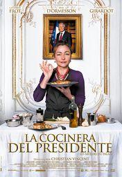 Cartel oficial en español de: La cocinera del presidente