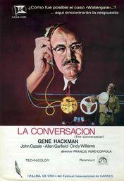 Cartel oficial en español de: La conversación