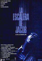 Cartel oficial en español de: La escalera de Jacob