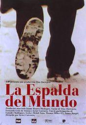 Cartel oficial en español de: La espalda del mundo