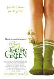 Cartel oficial en español de: La extraña vida de Timothy Green
